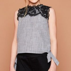 Other - 🍭COMING SOON!!!🍭 Lace top detail with side tie